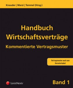 Handbuch Wirtschaftsvertraege